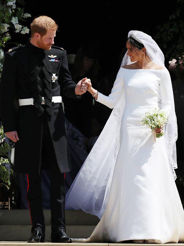 Váy cưới đẹp nhất thế giới của Tân công ngương