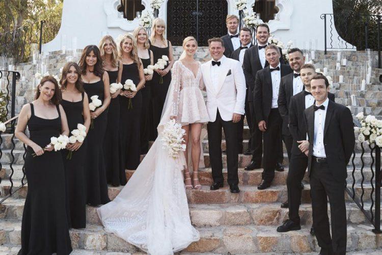 Váy Mullet trong lễ cưới